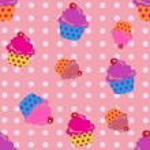 Cupcakes seamless — Stock Vector #52785211