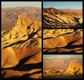 Zabriskie Point collage — Stock Photo