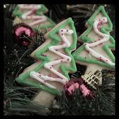 Cookies de l'arbre de noël — Photo