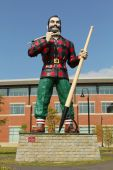Paul Bunyan Statue — Stock Photo