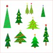 Christmas trees — Stock Vector #54684407
