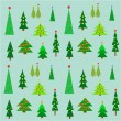 Christmas trees — Stock Vector #54684419