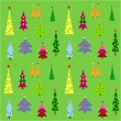 Christmas trees — Stock Vector #55312265