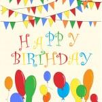 Happy birthday — Stock Vector #55731095