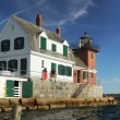 Rockland breakwater lighthouse — Stock Photo #55917845