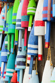 Colorful buoys — Foto Stock