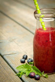 Blueberry smoothie — Stockfoto