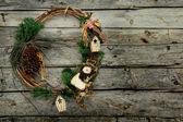 Christmas wreath — Стоковое фото