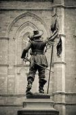 Maisonneuve statue — Stock Photo