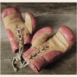 Vintage boxing gloves — Stock Photo #60231235
