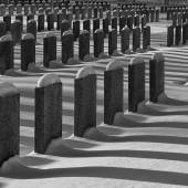 Graves soldier — Stock Photo