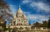 Sacre Coeur Basilica in Paris — Stock Photo