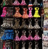 Eiffel tower keyholder souvenirs — Stock Photo