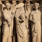 Detail of Cathedrale Notre Dame de Paris — Stock Photo #70861293
