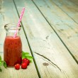 Strawberry smoothie — Stock Photo #71019949
