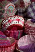 Cupcake papers — Stock Photo