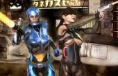 Space girls futuristic rogue combat — Stock Photo