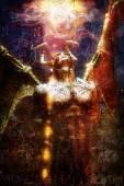 Lovercraft demon painted — Stock Photo