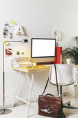 Modern creative workspace.  — Stock Photo