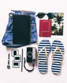 Vacation essentials.  — Stock Photo