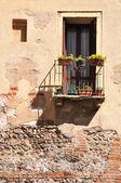 Varanda de Verona. — Fotografia Stock