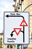 Traffic direction. — Stock Photo