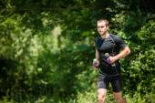 Training in nature — Stock Photo