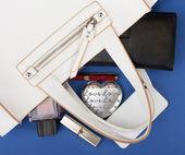 Business lady purse — Stock Photo