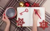 居心地の良いクリスマス — ストック写真