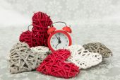 Minutes left to Christmas — Stock Photo