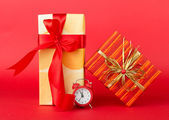 Minutes left to Christmas — 图库照片