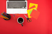 Creative workplace — Stockfoto