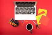 Creative workplace — Foto Stock