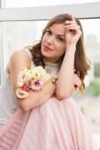ロマンチックな女の子 — ストック写真