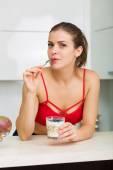 Healthy eatin — Stock Photo