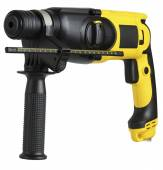 Professional rotary hammer with a drill — Stock Photo