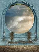 Fantasy landscape — Stock Photo