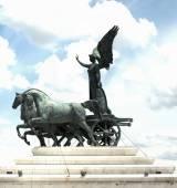 Sculptures of Vittorio Emmanuele monument — Stockfoto