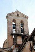 Campanario en el monumento a vittorio emmanuele en Roma — Foto de Stock