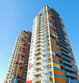 Vilnius city Justiniskes district new house — 图库照片