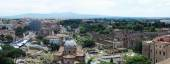 Rome aerial view from Vittorio Emanuele monument — ストック写真