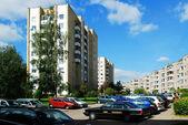 Vilnius stadt pasilaiciai landkreis ziegelhaus — Stockfoto