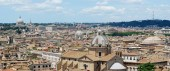Rome aerial view from Vittorio Emanuele monument — Stockfoto