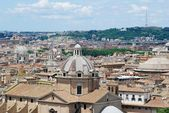 Rome aerial view from Vittorio Emanuele monument — Foto Stock