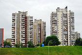 A casa de concreto da cidade de vilnius — Foto Stock
