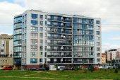 Vilnius pasilaiciai landkreis neue stadthaus — Stockfoto
