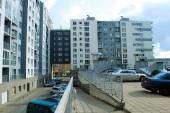 Casa nueva de vilnius ciudad pasilaiciai distrito — Foto de Stock