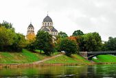 Our Lady of the Sign orthodox church in Vilnius — Stock Photo