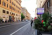 Rome city street life on May 30, 2014 — Stock Photo