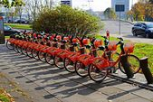 Vilnius city Zverynas district and cycles system — Stock Photo